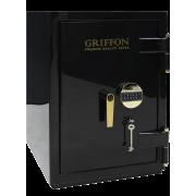 Сейф огнестойкий и взломостойкий III класса GRIFFON CL.III.68.KE LUX GOLD