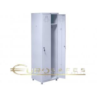 Шкаф для раздевалок медицинский HILFE МД 2 ШМ-SS